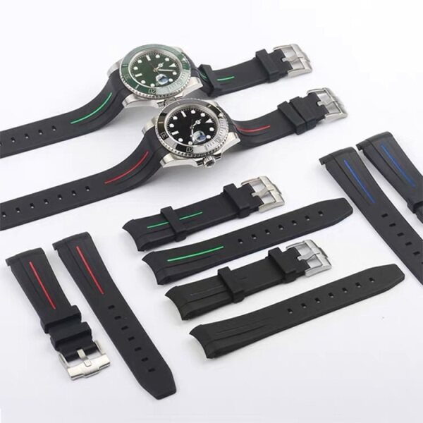 Rubber B 20/21mm with good quality for Submariner and Deepsea Malaysia
