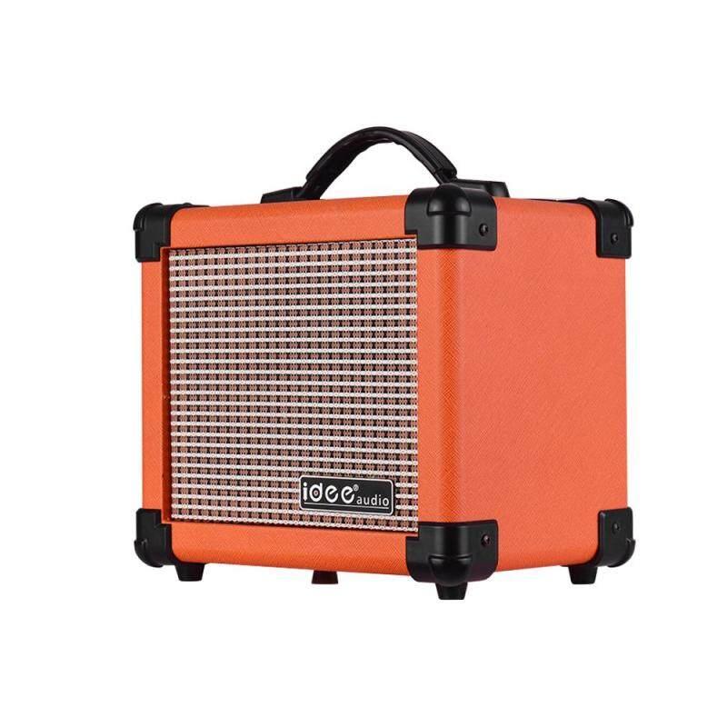 IDEEAUDIO MA-1 10 Watt Portable Desktop Electric Guitar Speaker Amplifier with Two Adjustable Channels Combo Amp Orange EU Plug Malaysia