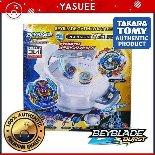 Takara Tomy Beyblade Burst B-136 GT Battle Set Include 2 Beyblade/& Launcher