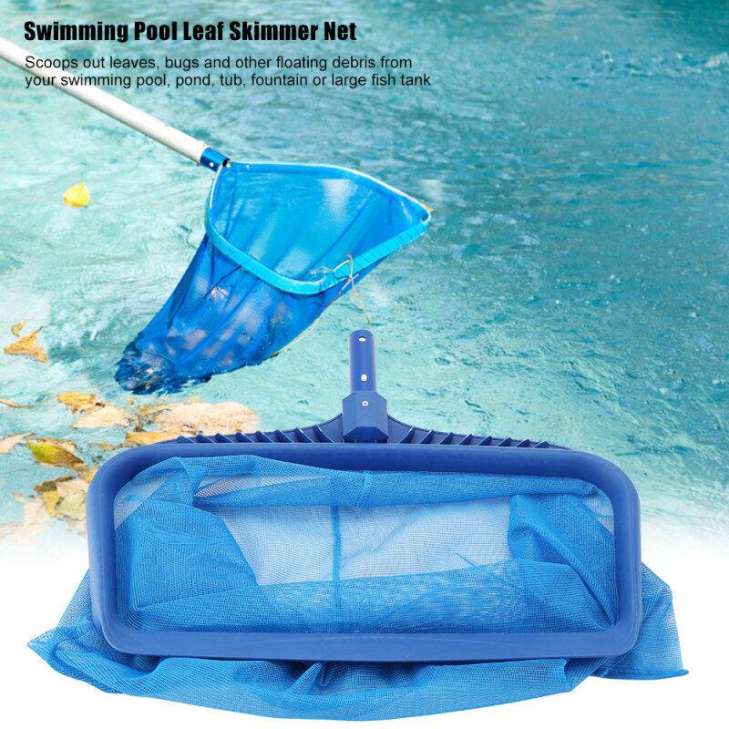【lower price+ready stock】Nhẹ Lá Skimmer Lưới Mịn Lưới Sâu Túi Bể Bơi AO Bồn Effectvie Dụng Cụ Vệ Sinh