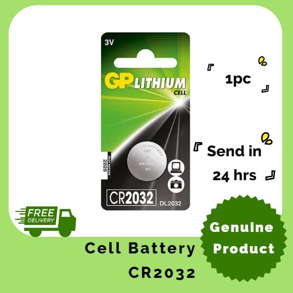GP CR2032 Lithium Coin Battery (1pc)