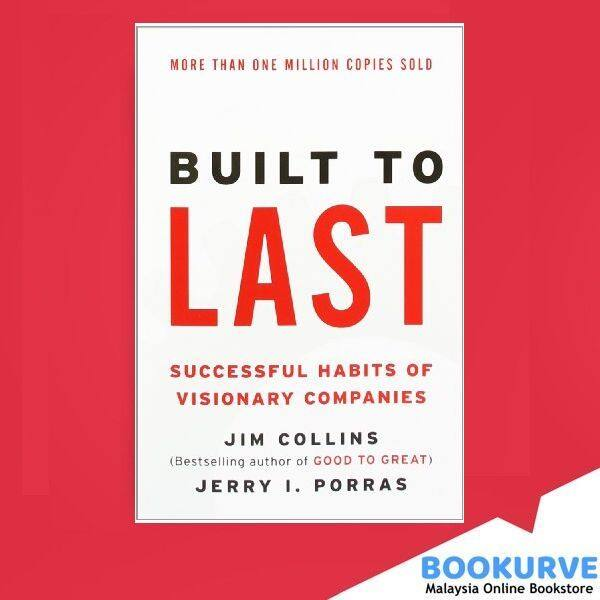 [ BOOKURVE ] Built to Last: Successful Habits of Visionary Companies (Harper Business Essentials) Malaysia