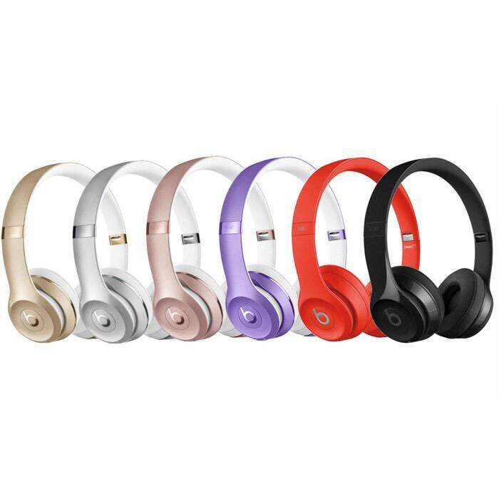 0e933dbb3f5 (OEM) New Beats Solo 3 Wireless Bluetooth Headphones TM-037 (Special Edition