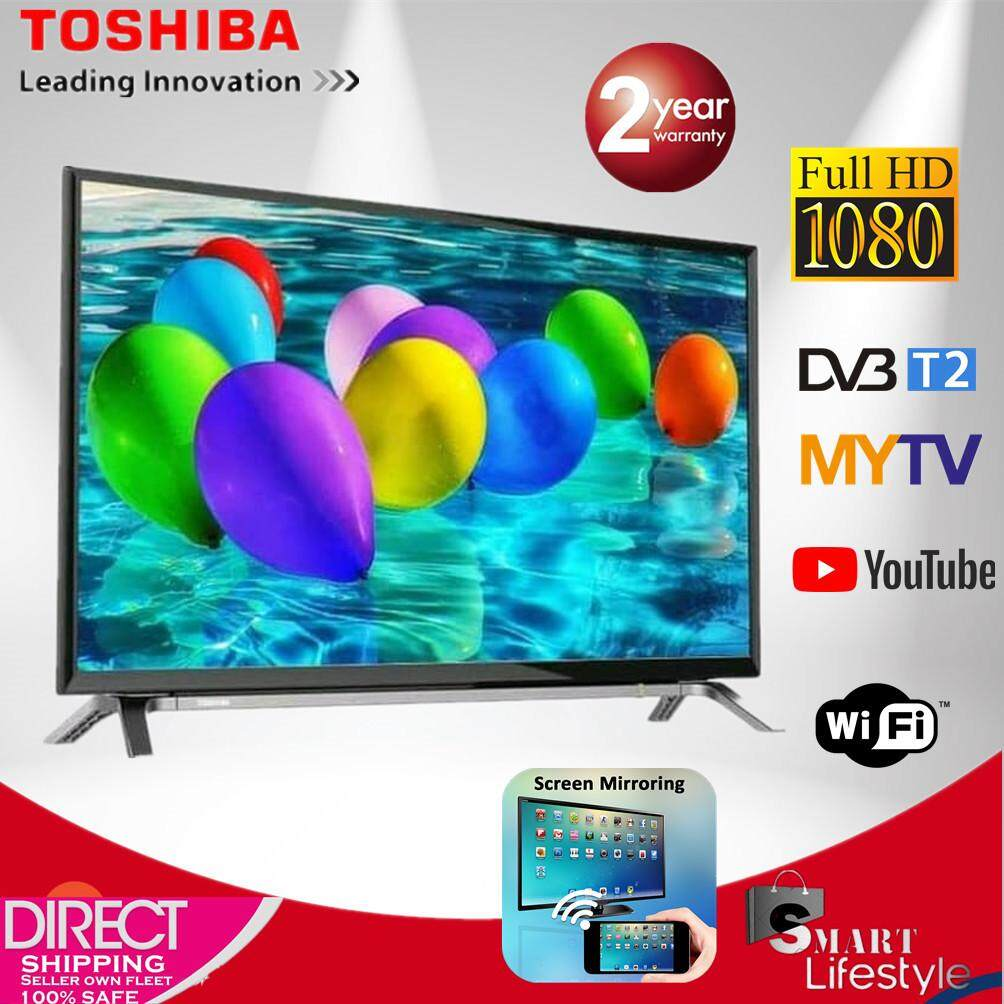 TOSHIBA 43 FULL HD SMART LED TV WITH DVBT2 MYTV FREE VIEW
