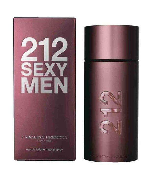 Caroline Herrera 212 SEXY MEN FOR MEN EDT 100ML