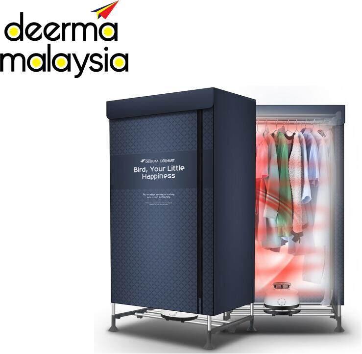 Deerma Dem V2 Portable Rapid Clothes Dryer 2 Layer - Navy Blue