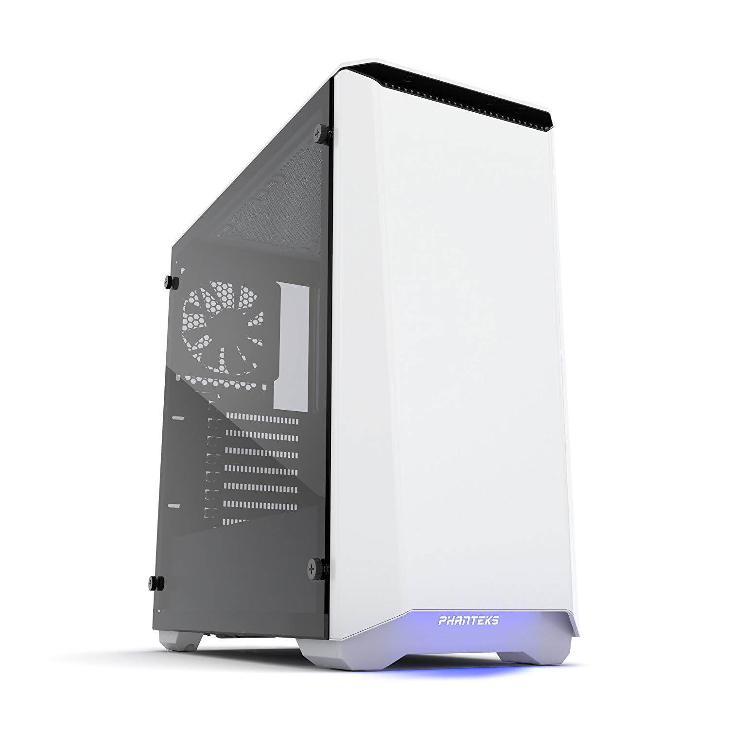PHANTEKS ECLIPSE P400 TEMPERED GLASS WHITE CHASSIS Malaysia