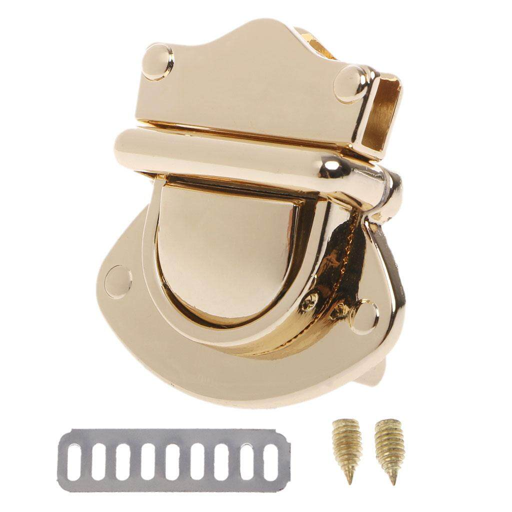 Luggage & Bags Metal Clasp Turn Lock Twist Locks For Diy Handbag Craft Bag Purse Hardware Quality First