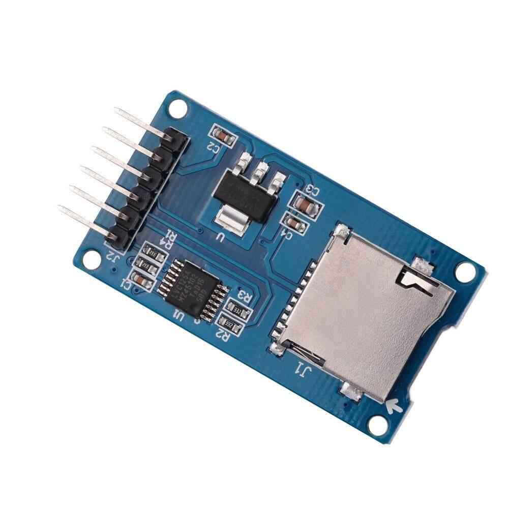 Micro SD Module Mạch Đầu Đọc Thẻ TF Nhớ Che Chắn Giao Diện SPI Cho Arduino