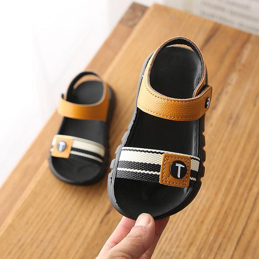 Laceyshop Summer Children Kids Boys Girls Beach Flat casual Sport Sandals Shoes Sneakers By Laceyshop.