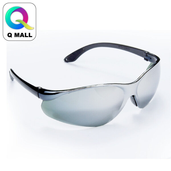 New Safety Eye Protection PPE Glasses Goggle Spec (8609-1) Clear & (8903-4) Reflective Silver