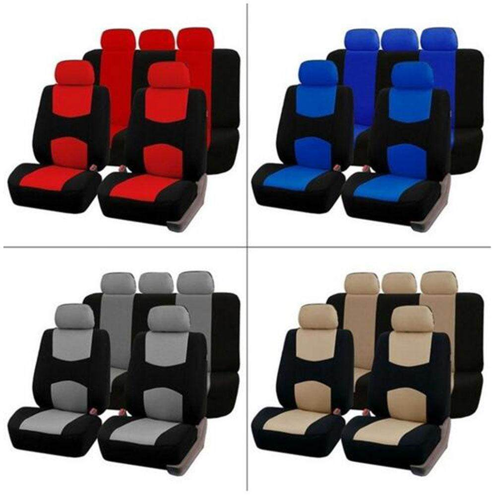 Universal Car Seat Cover 9 Set Full Seat Covers For Crossovers Sedans By Yunhaitech.