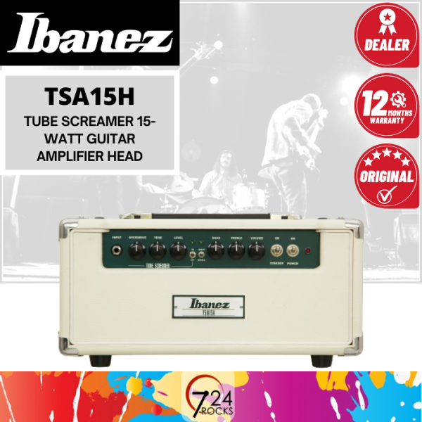 724 ROCKS Ibanez TSA15H Tube Screamer 15-watt Guitar Amp / Amplifier Head Malaysia
