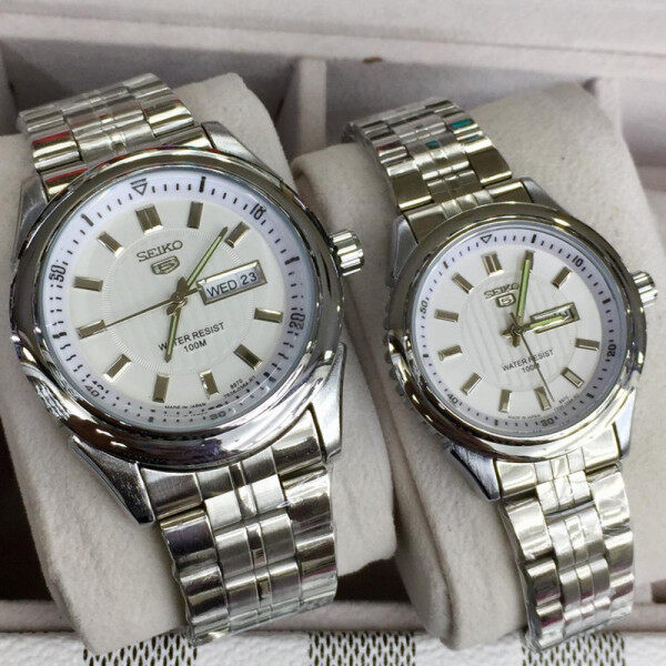 SEIKO_5_ COUPLE WATCH DAY DATE ALSO SHOCKING PRICE AUTO MACHINE Malaysia