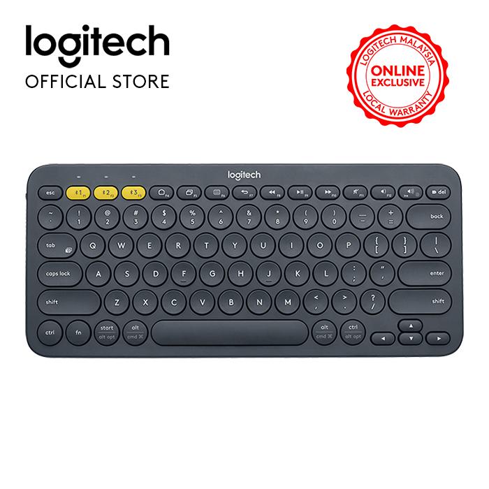 Logitech K380 Bluetooth Multi Device Keyboard-Black (920-007596) Malaysia