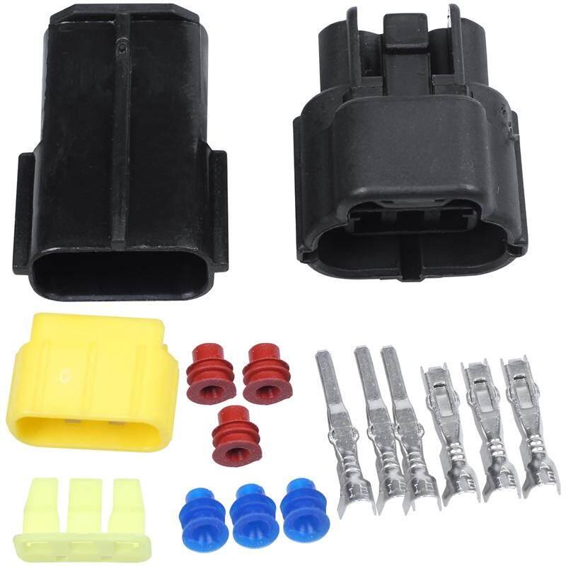 Offer Khuyến Mãi Plastic Waterproof Car Connectors Plug 3 Pin