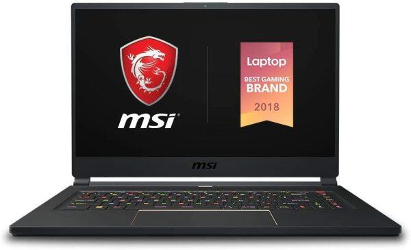 MSI GS65 Stealth-483 15.6 Gaming Laptop, 240Hz Display, Thin Bezel, Intel Core i7-9750H, NVIDIA GeForce RTX2060, 16GB, 512GB NVMe SSD, Thunderbolt 3 Malaysia