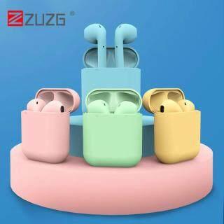 [ZUZG] Tai Nghe Bluetooth Không Dây Mini Macaron InPods 12 Tai Nghe Nhét Tai Âm Thanh Nổi Cảm Ứng Thông Minh Có Hộp Sạc Dành Cho iPhone Android Huawei Xiaomi Samsung OPPO Vivo thumbnail