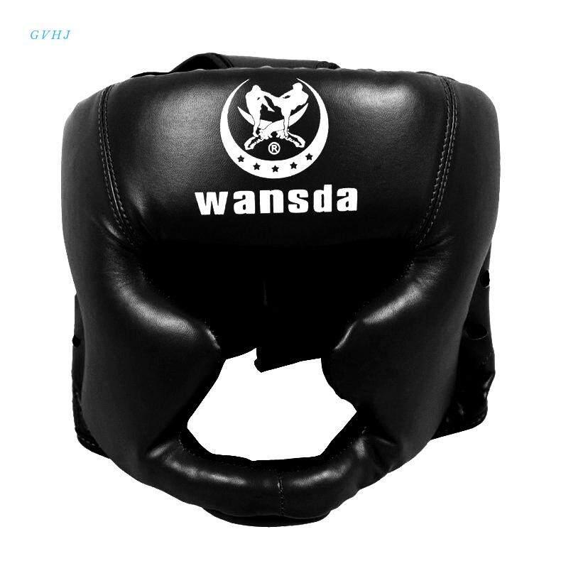 Giá Quá Tốt Để Mua Gvhj Mũ Trùm Đầu Vệ Đầu Huấn Luyện Kick Boxing Tấm Bảo Vệ Sparring Gear Mặt Mũ Bảo Hiểm