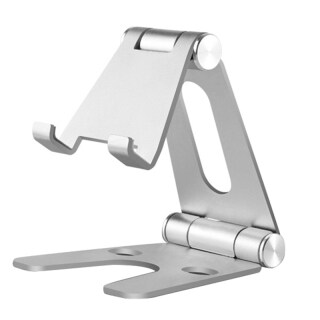 Rotatable Aluminum Alloy Tablet Holder For Ipad Air 1 2 Mini 1 2 3 4 Pro 9.7 10.5 12.9 Foldable Cell Phone Holder Stand thumbnail