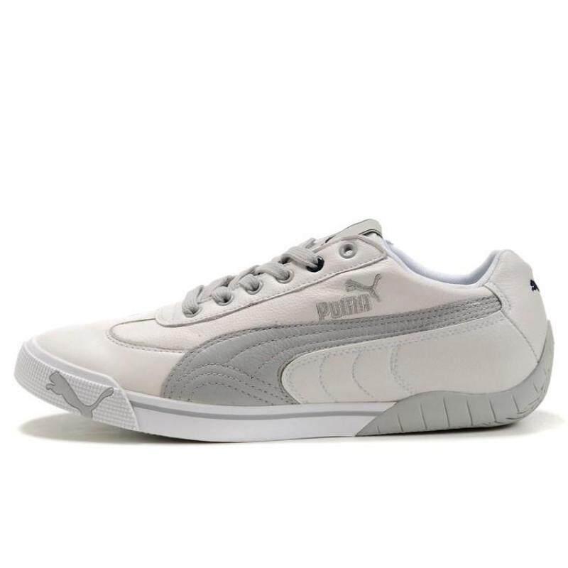 Stok Tersedia PUMA2010 Olahraga Sepatu Sepatu Kasual Modis Beige Grey