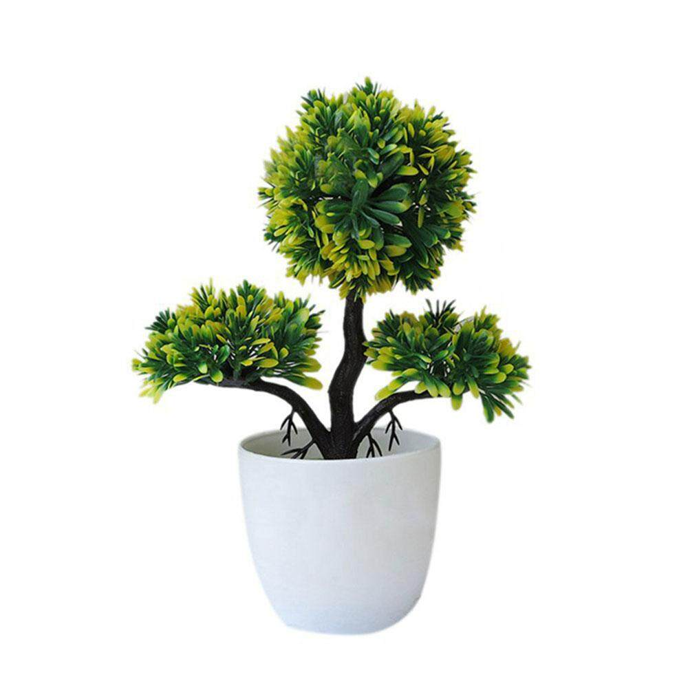 Beautiful Lightweight Little Pine Tree Ornament Artificial Tree Simulation Flower