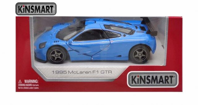 "5/"" Kinsmart 1995 McLaren F1 GTR Diecast Model Toy Car 1:34 4PC Set"