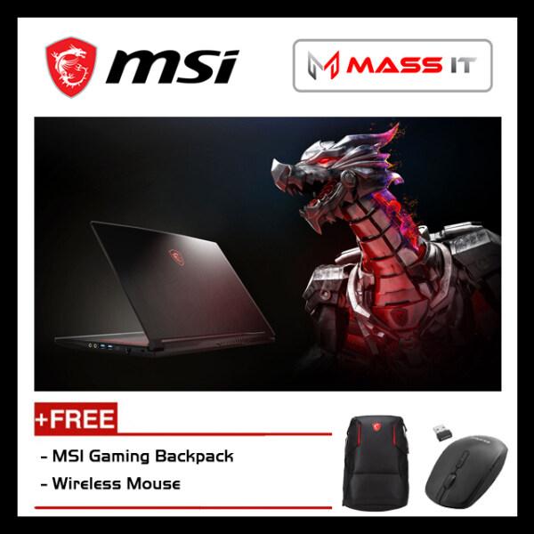 MSI GF63 9SC-891BN (i5-9300H/GTX1650 MaxQ 4GD5/4GB D4 2666MHz/256GB NVMe M.2 SSD/15.6 IPS 60Hz FHD/W10/2YR) Malaysia