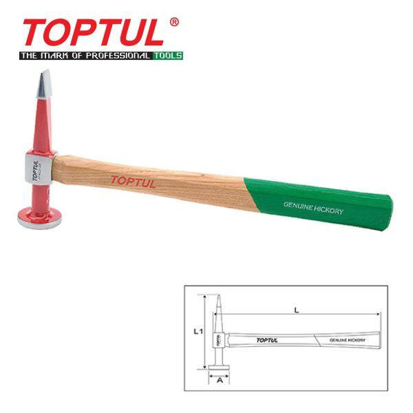 TOPTUL Straight Pein & Finishing Hammer - Crowned Face (JFAC0133)
