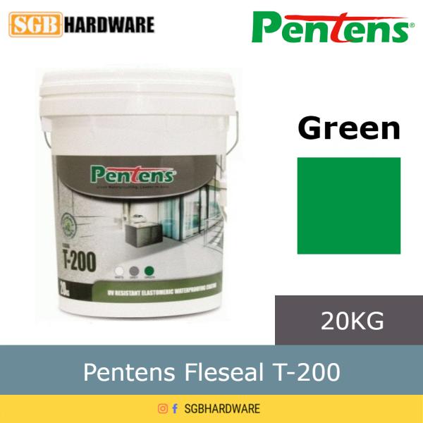 20Kg Pentens T-200 Waterproofing Fleseal Green