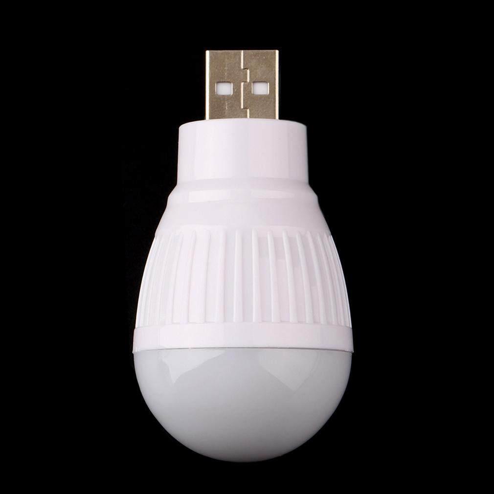 H-MENT Di Động Nhỏ và Nhẹ Tiết Kiệm năng lượng Bền Mini USB Đèn LED Bóng Đèn Dành Cho Máy Tính Laptop Bàn Đọc Sách