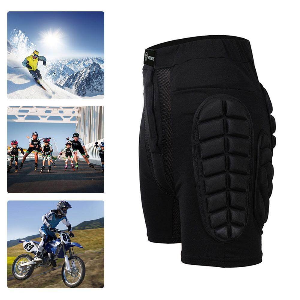 Motocross Shorts Skateboard Skiing Racing Trousers Sport Protective Gear(xl) By Motorcyclesaccessories.