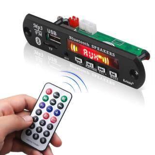 Mạch Giải Mã MP3 Bluetooth 5.0 Mô Đun Máy Nghe Nhạc MP3 Âm Thanh DC 5V Màn Hình LCD Micrô Rảnh Tay Ghi Âm USB FM TF AUX Bộ Khuếch Đại Âm Thanh 2X3 W Hỗ Trợ Loa MP3 WAV WMA Với Bộ Điều Khiển Từ Xa thumbnail