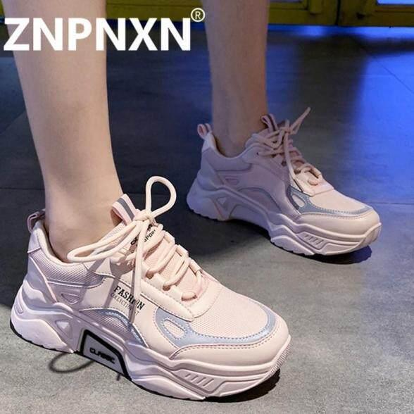 Giày Thể Thao Nữ Hiệu ZNPNXN, Giày Chạy Bộ Đế Cao Su Cho Nữ Sinh Kiểu Hàn Quốc giá rẻ