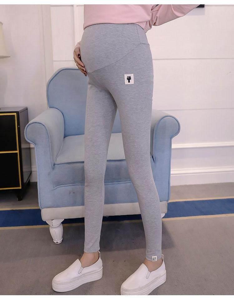 0c64e78281811 Maternity leggings trousers pregnant women stomach lift pants stretch pants