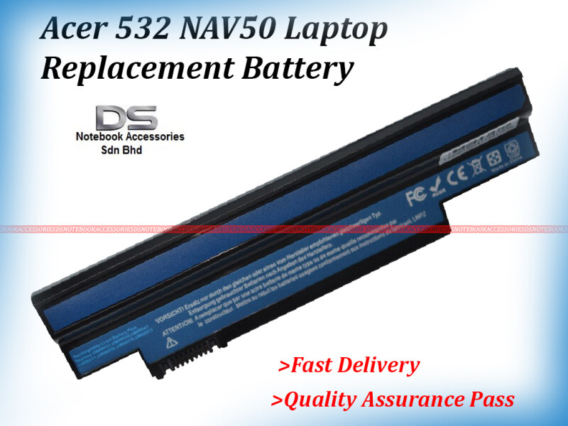 Acer Aspire One 532 532H UM09H31 Laptop Battery / Acer 532 Battery Malaysia