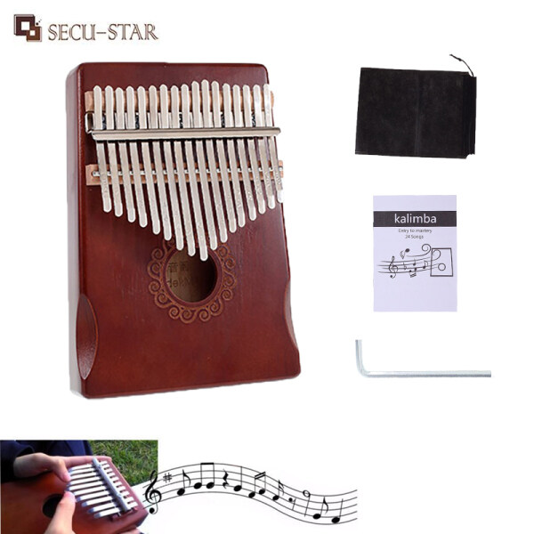 SECU-STAR 17 Key Kalimba Thumb Piano Toy Wooden Finger Piano Instrument Gift Malaysia