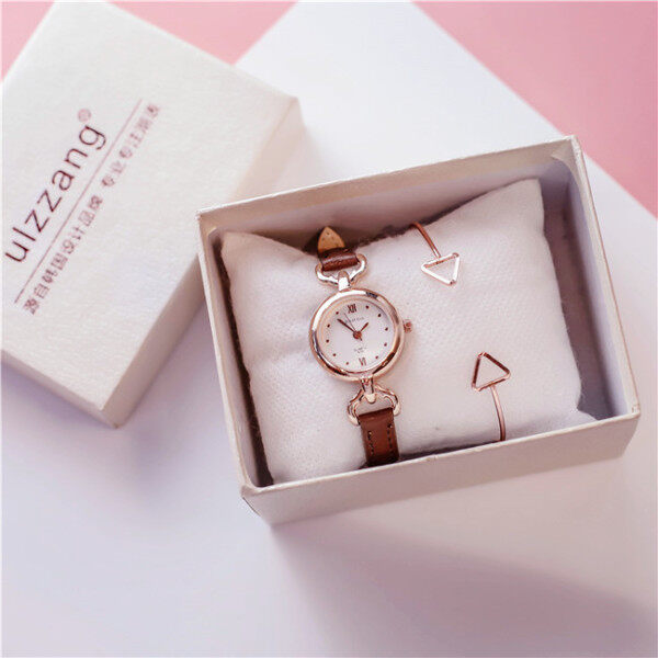 Women Watch Korean Version of Simple Thin Strap Small Mini Temperament Girl Watch Small Dial Watch for Women Malaysia
