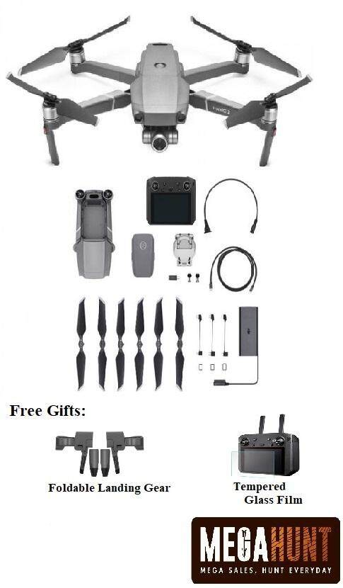 DJI Mavic 2 Zoom With Smart Controller and Free Gift