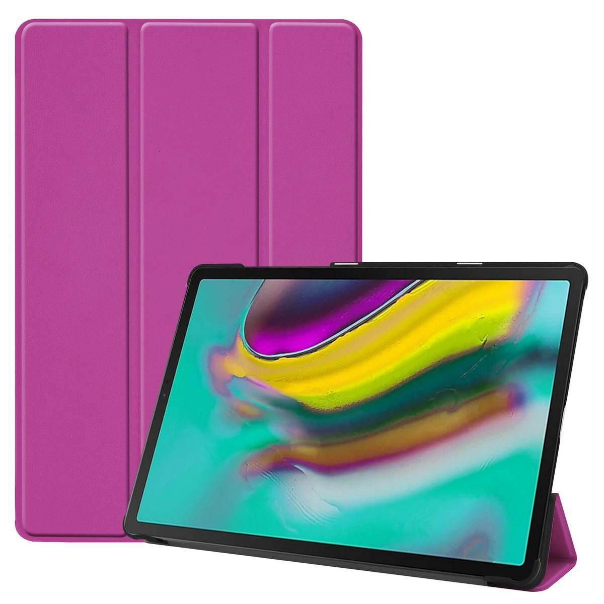 DWaybox PU Leather Case For Samsung Galaxy Tab S5e T720 T725 With Stand Holder Colourful Folding