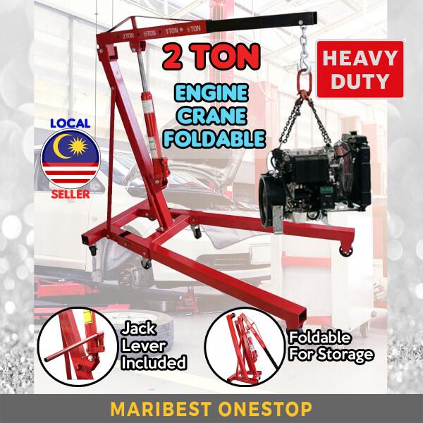 2 Ton Heavy Duty Hydraulic Engine Crane Foldable