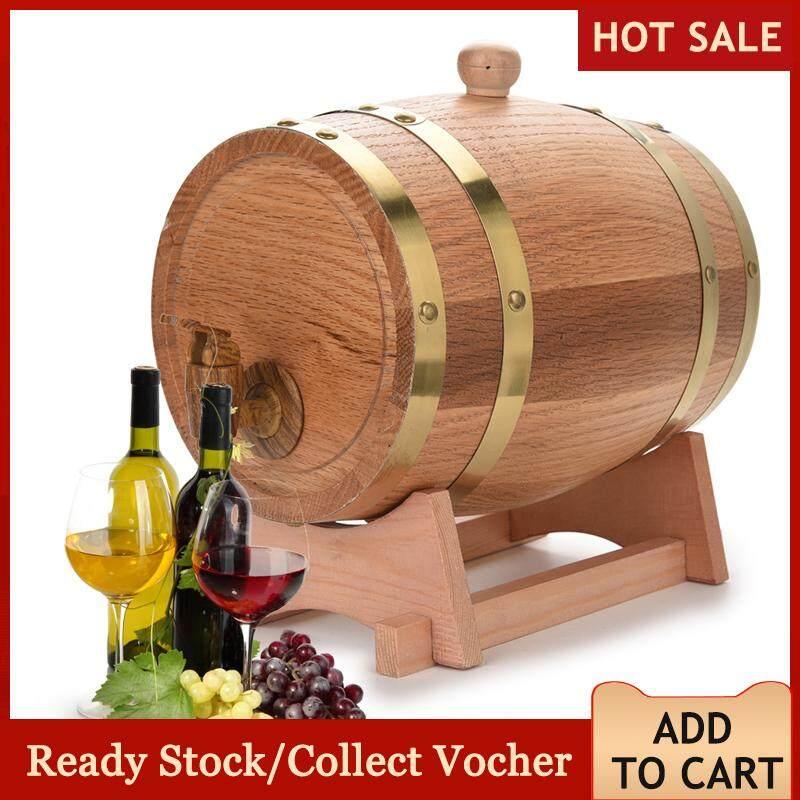 Sweetbaby 3l วินเทจไม้โอ๊คไม้ตู้ไวน์บาร์เรลสำหรับวิสกี้ Bourbon เตกีล่า.