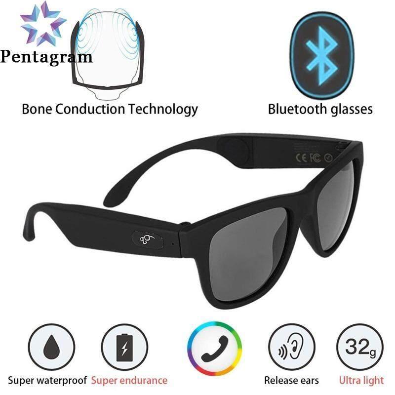 Giá Kính G1 Tai Nghe Truyền Âm Qua Xương Bluetooth 4.0 Tai Carer Màn Hình Cảm Ứng Bộ Lọc Kính Râm Tia UV