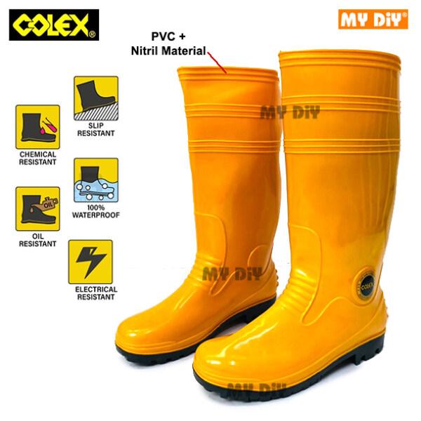 MYDIYSDNBHD - COLEX RUBBER BOOT YELLOW RAIN BOOT PVC BOOT KASUT GETAH