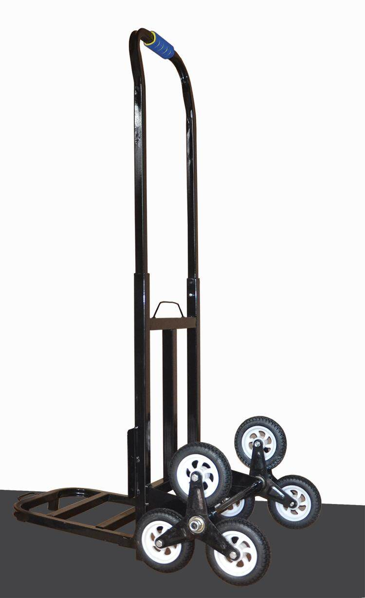 millionhardware - 150kg 6 Wheel Stair Climbing Hand Sack Trolley Cart Truck