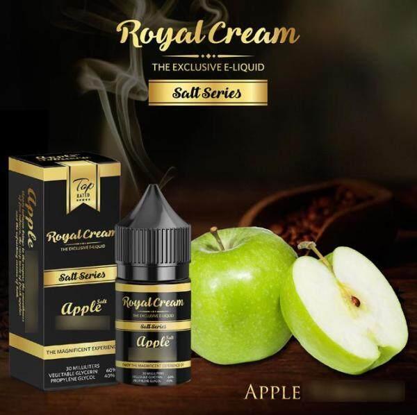 ( S@lt ) R. Cream S@lt 30ML ( Vanilla / Chocolate / Strawberry / Coffee ) Vape Juice Ready Stock Royal Cream Salt Malaysia