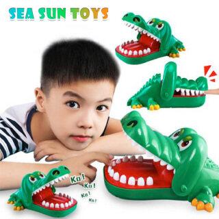 Đồ chơi cá sấu miệng lớn có răng cắn ngón tay, tập khả năng phản ứng cho trẻ em - INTL thumbnail