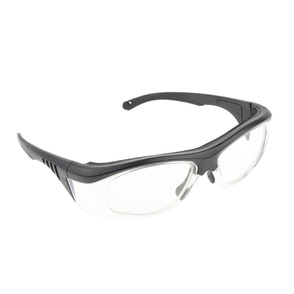 Blesiya Black Lab Safety Protective Glasses Lightweight EN166 ANSIZ87.1, Clear Lens