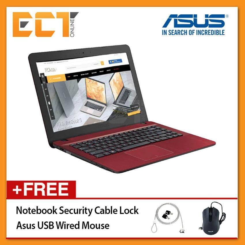 Asus VivoBook Max X441U-AWX323T Laptop (i3-6006U 2.0GHz,4GB,1TB,14 HD,W10) Malaysia