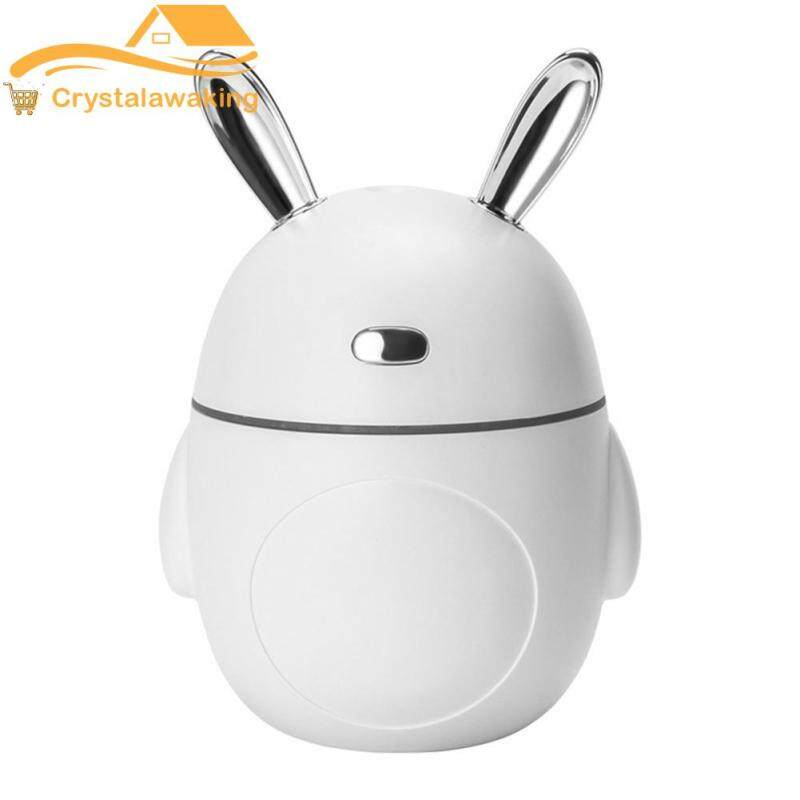 Rabbit LED Aromatherapy Diffuser Ultrasonic Humidifier Essential Oil Mist Maker Living Room Supply Singapore